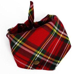 Dogbandana Scottish Red